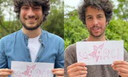 Lorenzo Donnoli e Mattia Santori delle 6000 sardinesostengono Arci
